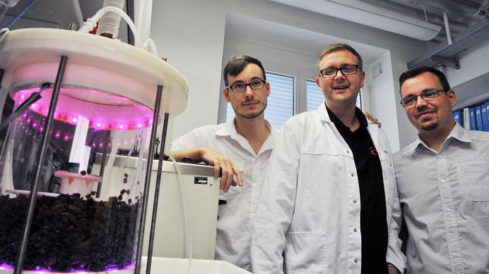 Foto: TU Dresden Fachbereich Bioverfahrenstechnik
