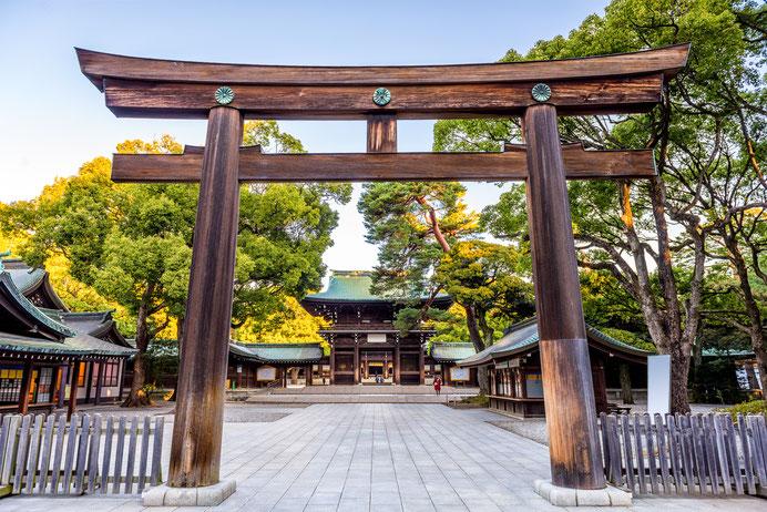 Meiji-Jingu à Tokyo