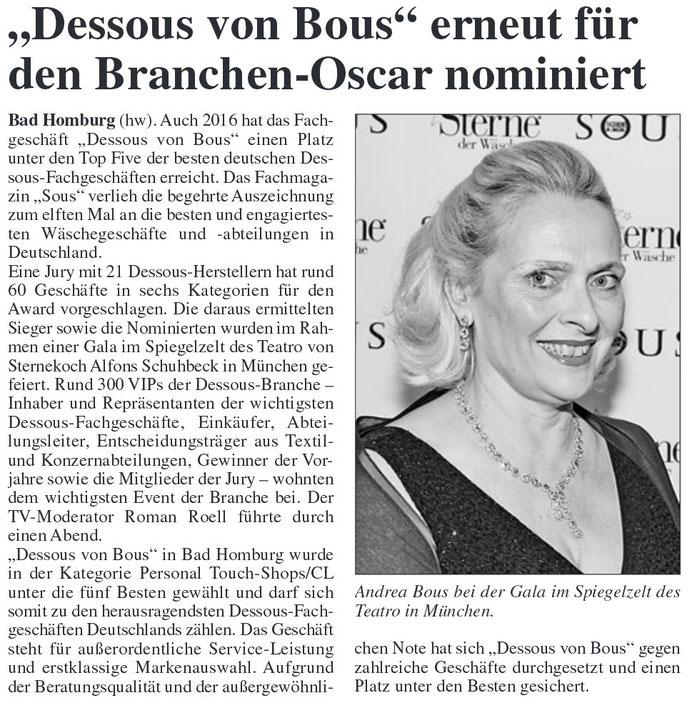 Homburger Woche 10.03.2016