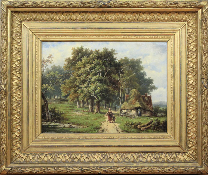 te_koop_aangeboden_een_landschaps_schilderij_van_de_nederlandse_kunstschilder_hendrik_pieter_koekkoek_1843-1927