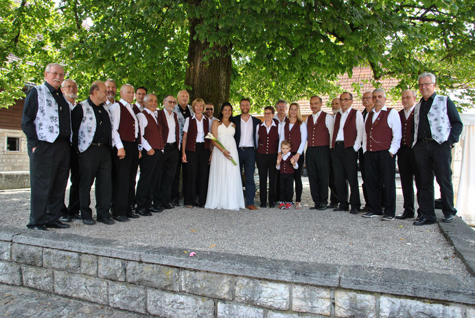 Hochzeit von Marius Hatt