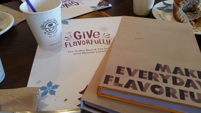 Coffee Bean and Tea Leaf's Art of Giving - Coffee Musings on Paper