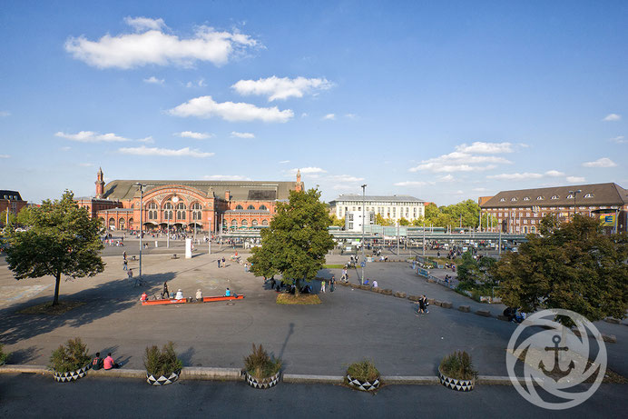 Bremen, Hauptbahnhof, Bahnhofsvorplatz, Straßenbahn, Skaterbahn, Innenstadt, Hansestadt Bremen,