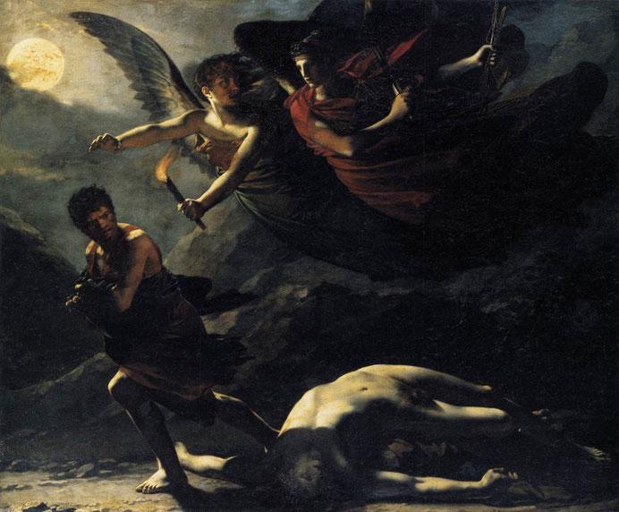 "Pier Paul Prod'hon, ""Dike e nemesi"" (1805)"
