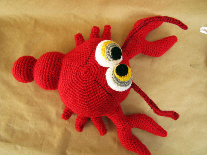 Amigurumi Pattern Lobster Crochettoy