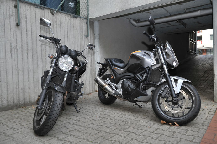 Motorräder Fahrschule