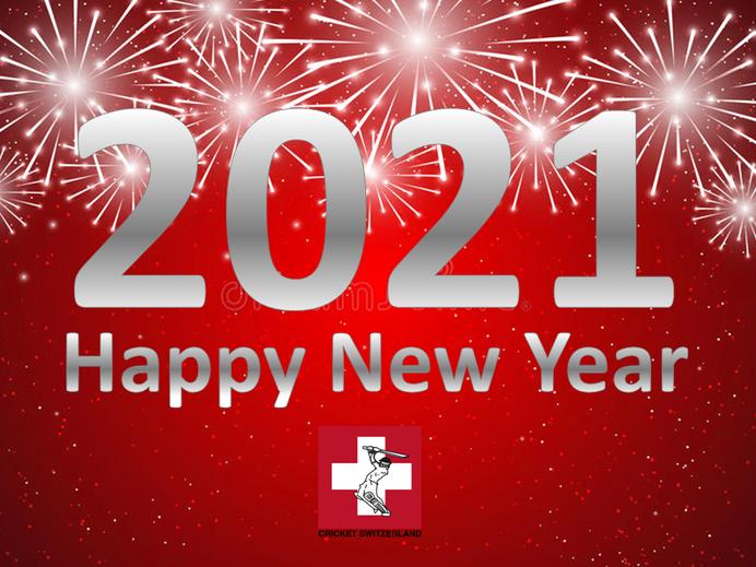 Happy New Year from CRICKET SWITZERLAND