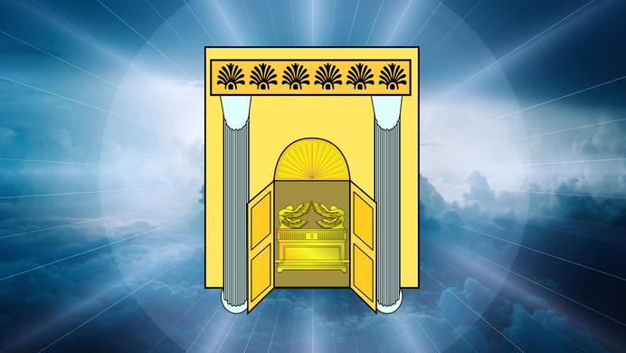 Le moment est venu de détruire ceux qui saccagent la Terre. L'arche de l'alliance, symbole de la toute Puissance divine, apparaît dans le Temple céleste.
