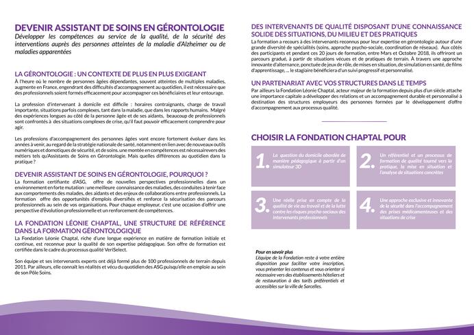 Formation D Assistant De Soins En Gerontologie Pratiques En Sante