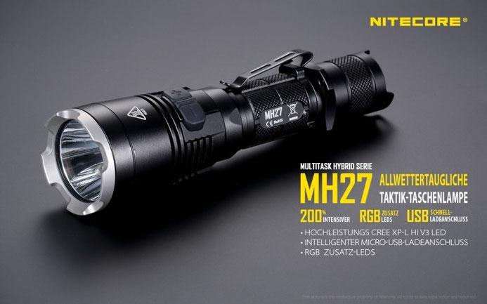 Nitecore MH27
