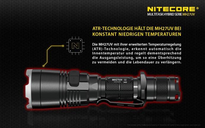 Nitecore MH27 UV