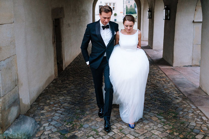 Hochzeitsfotograf Thomas Sasse aus Magdeburg Braut Bräutigam Hochzeit Annika und Marcus Schlosshotel Muenchhausen