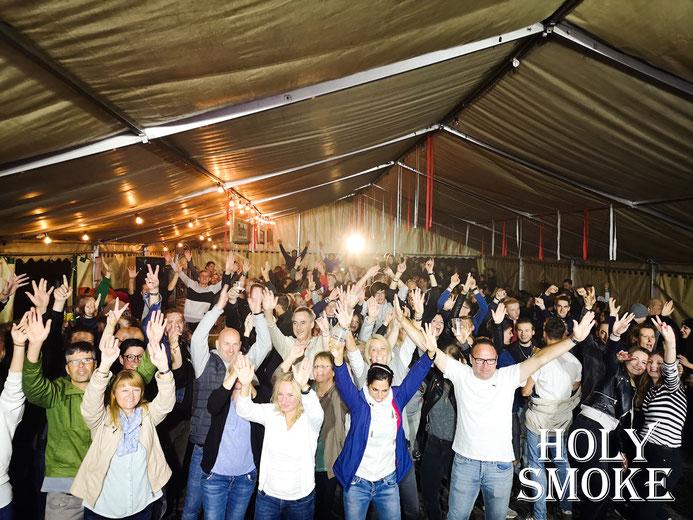 Holy Smoke Rock Coverband bei 100 Jahre FV Steinau - Rock Am Steines. Partyband und Hochzeitsband in Hessen.
