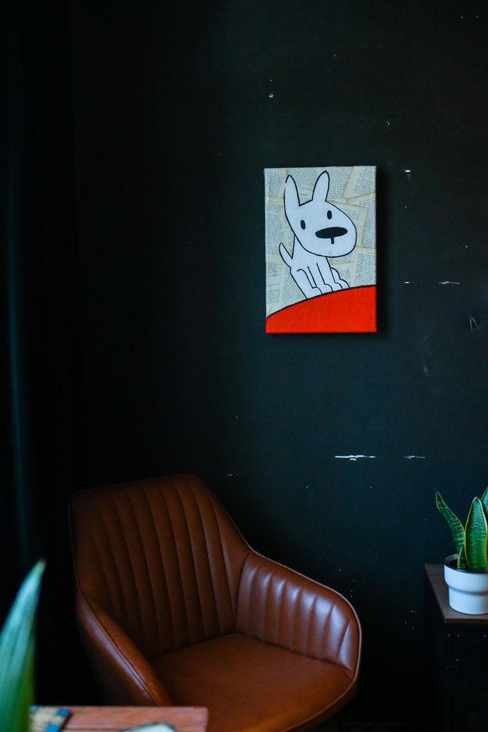 abstrakte malerei in münchen - kommando kunst