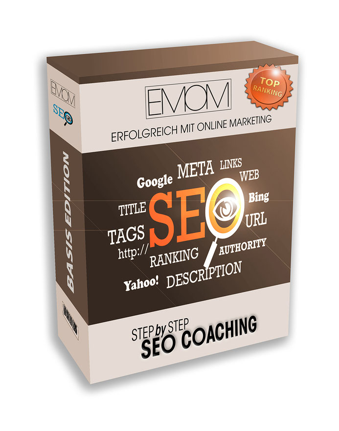 Produkt SEO Coaching Step by Step in der Basis Version