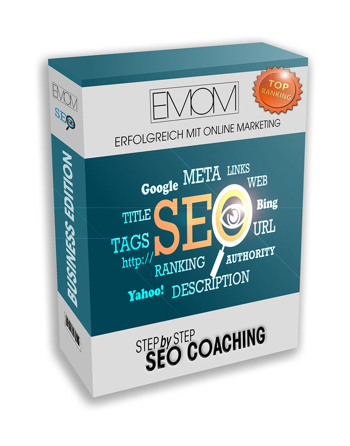 Produkt SEO Coaching Step by Step in der Business Version