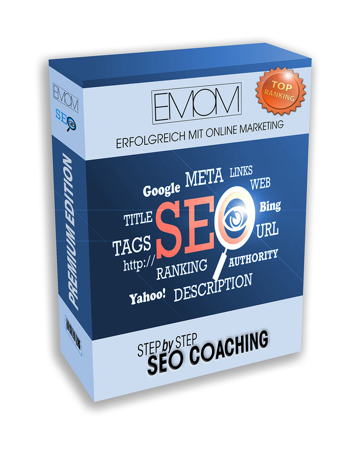 Produkt SEO Coaching Step by Step in der Premium Version