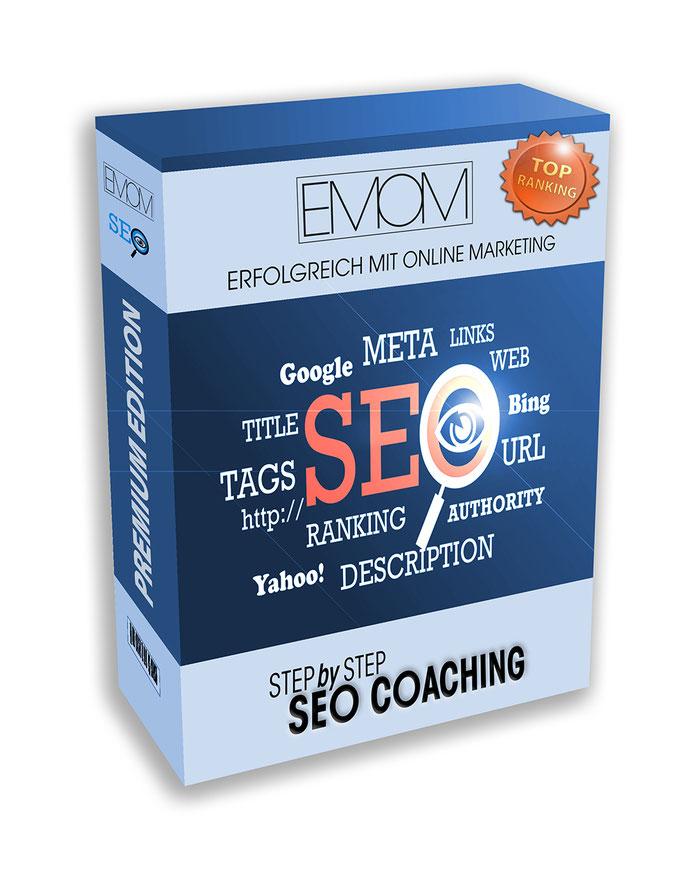 Produkt SEO Coaching Step by Step in der Premium Version