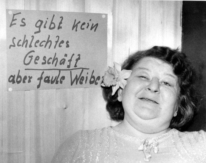 Kiezbilder - Marianne - fotografiert von Günter Zint