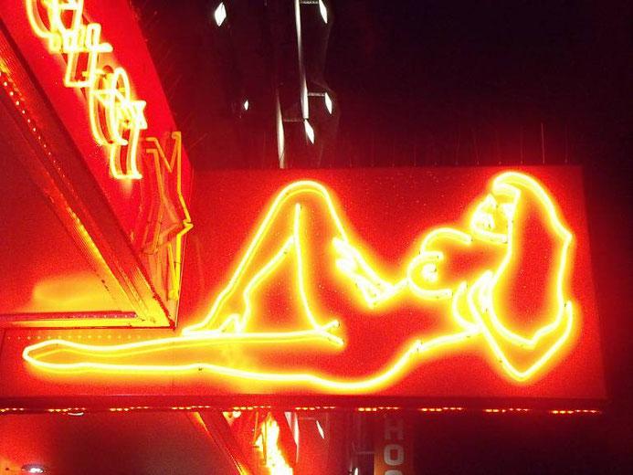 Nachtaufnahme - Reeperbahn Hamburg St. Pauli