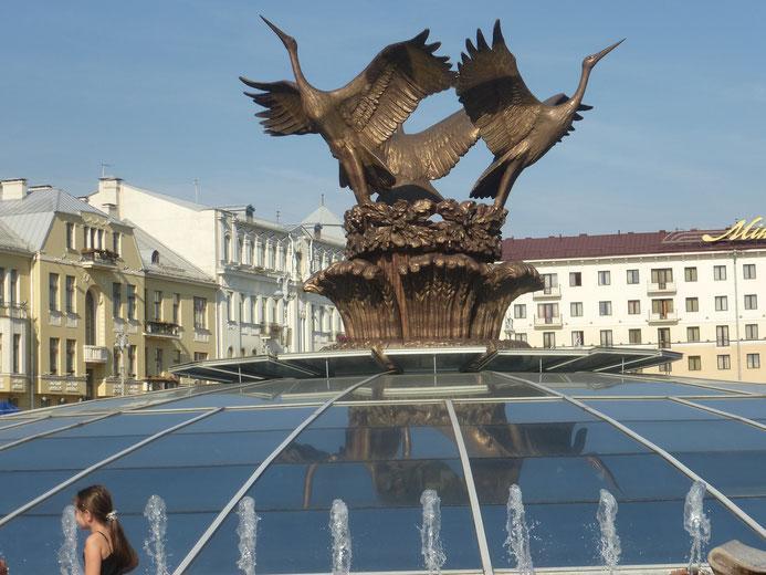 Anschliessend der Besuch von Minsk, eine sehr schöne Stadt