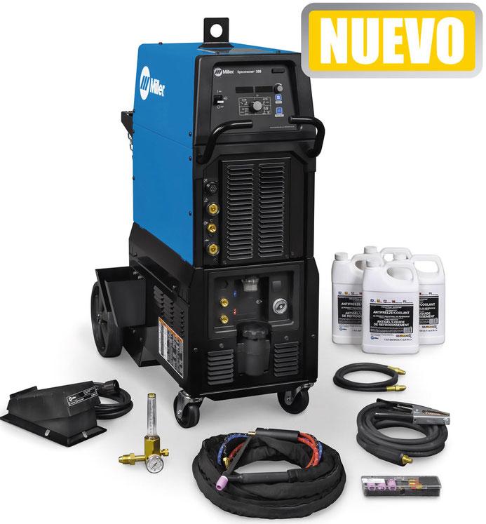 Syncrowave 400 con accesorios