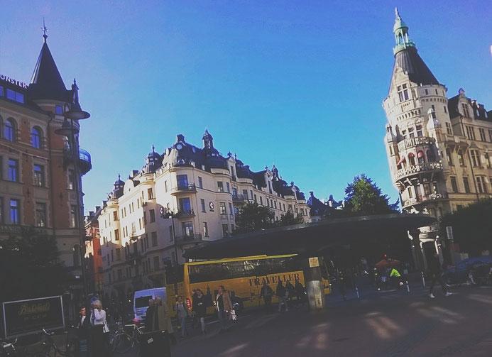 stockholm capitale bus ville ostermalm