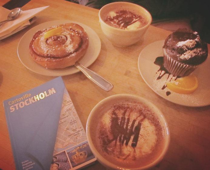 chokladkoppen, suède stockholm café fika