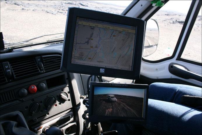 Der elektronische Co-Pilot und die Überwachung der Mitreisenden ...