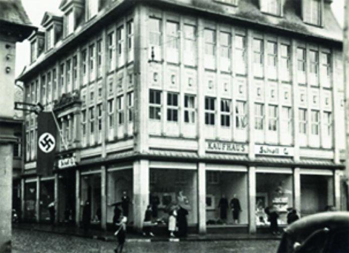 Das Kaufhaus Lenneberg während der NS-Diktatur