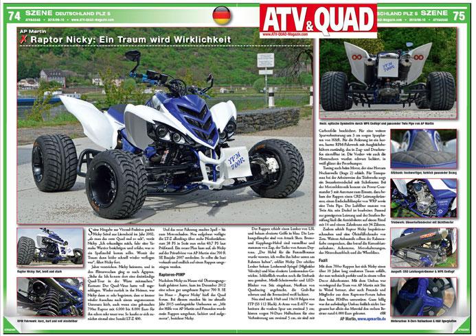 ATV- und QUADMAGAZIN 9/10 - 15                                 Bilder: Flo Saueressig