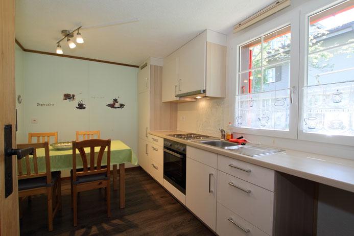 Ferienwohnung Chalet Birkhahn Grindelwald - Küche