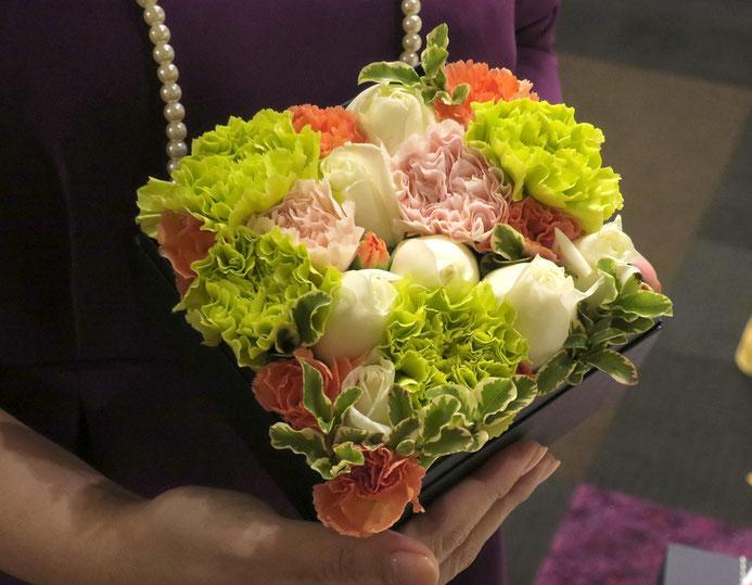 母の日のギフトにもぴったりの箱花(写真はイメージです。実際の商品とは異なります)
