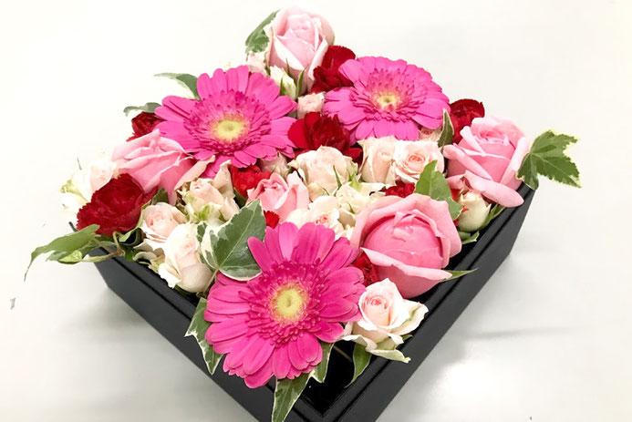 箱花ピンクMサイズ