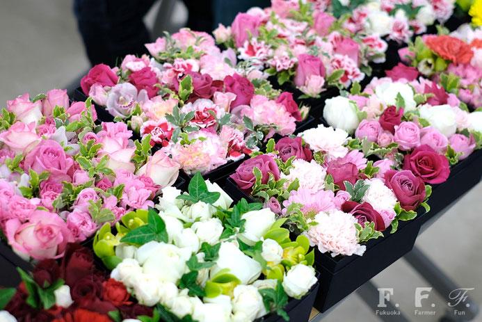 北崎の花農家さんたちがつくった箱花