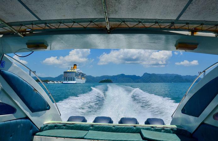 Speedboot von Langkawi nach Koh Lipe