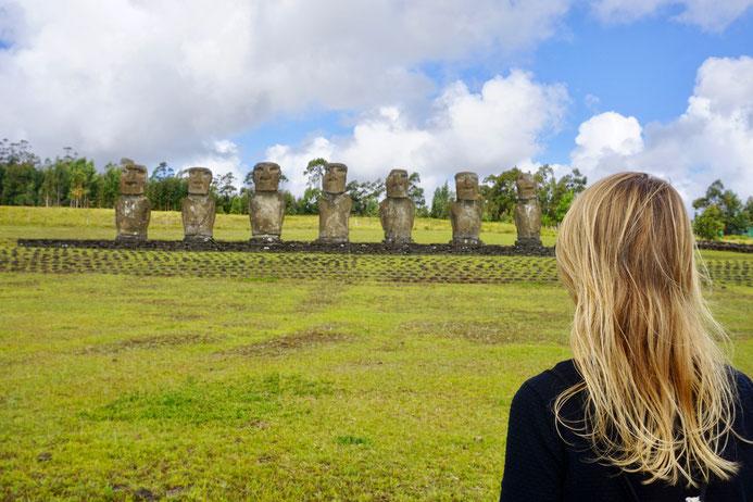 Osterinsel, Moai, Steinkopf