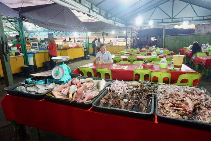 Marktstand, Fisch