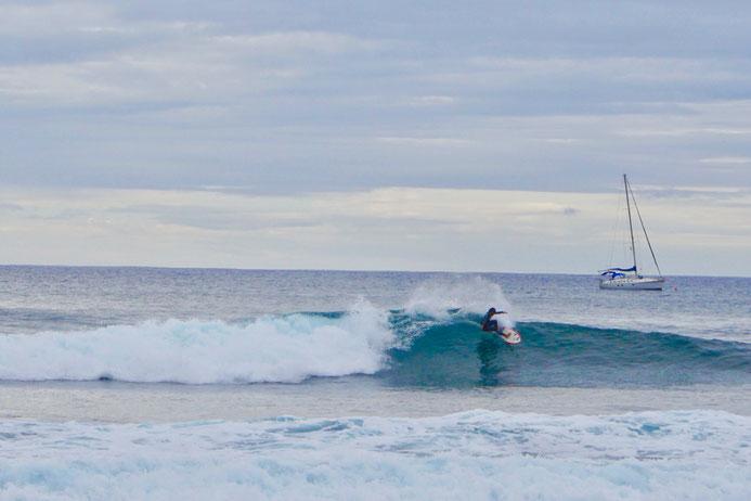Surfer, Wellenreiten