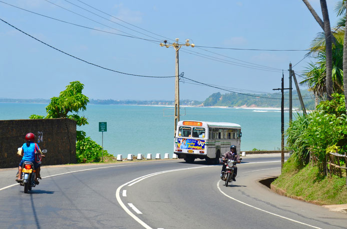 Küstenstraße Sri Lanka