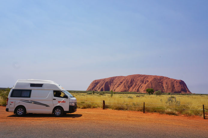 Wohnmobil, Camper, Ayers Rock