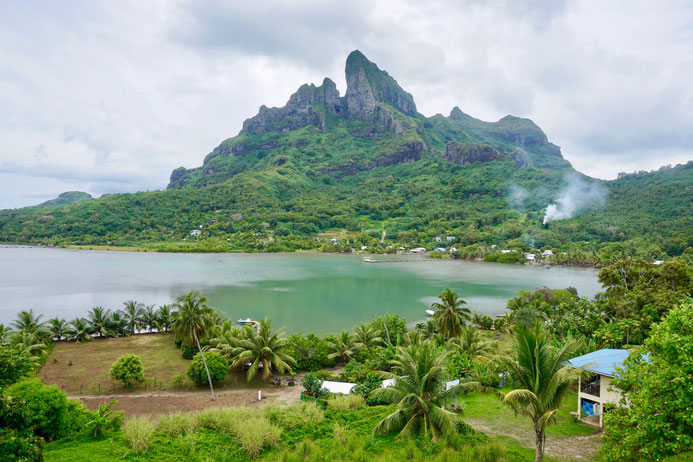 Ausblick Bora Bora