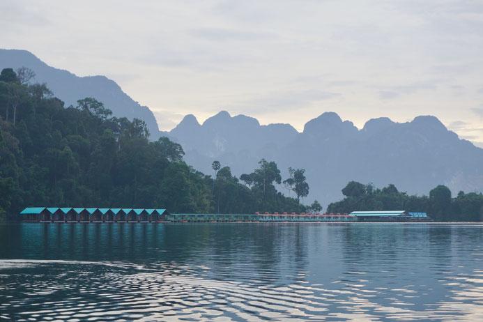 Kao Sok Nationalpark, schwimmende Unterkunft