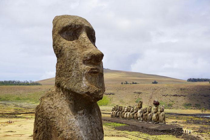 Moai, Steinköpfe