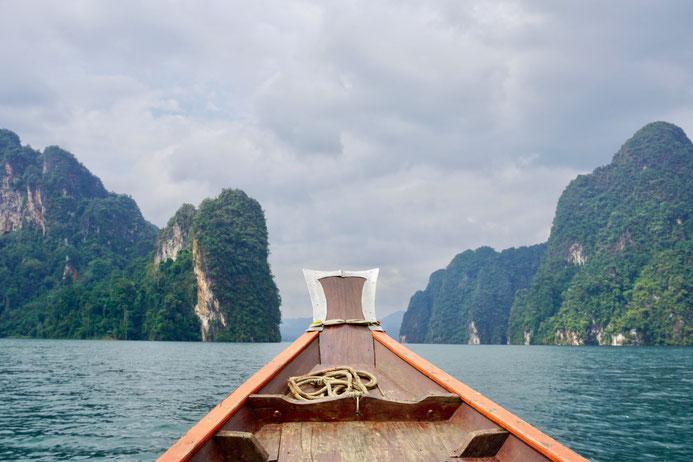 Kao Sok Nationalpark, Longtailboot