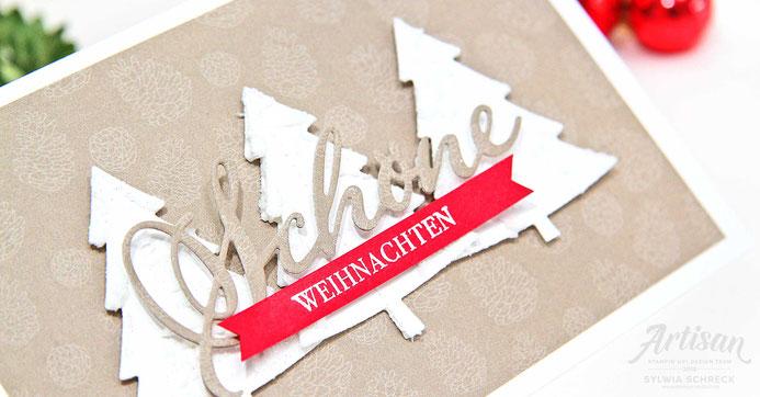Schöne Weihnachten-Weihnachtskarte-Sylwia Schreck