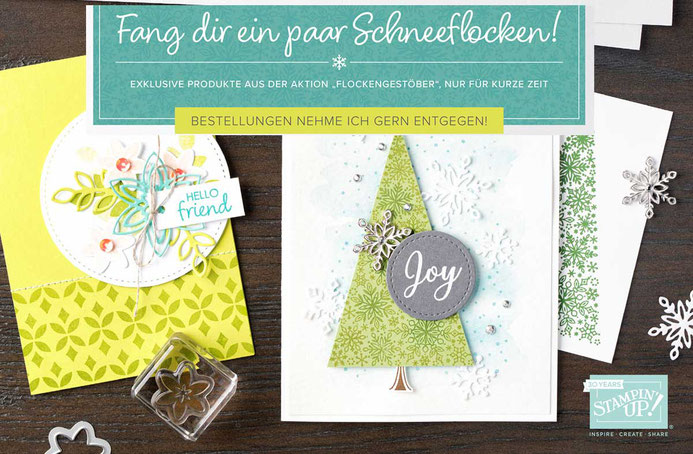 Schneeflocken - Stampin Up!