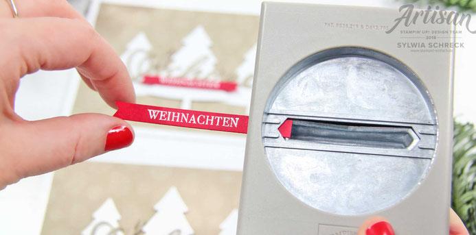 Klassisches Etikett - Stampin up