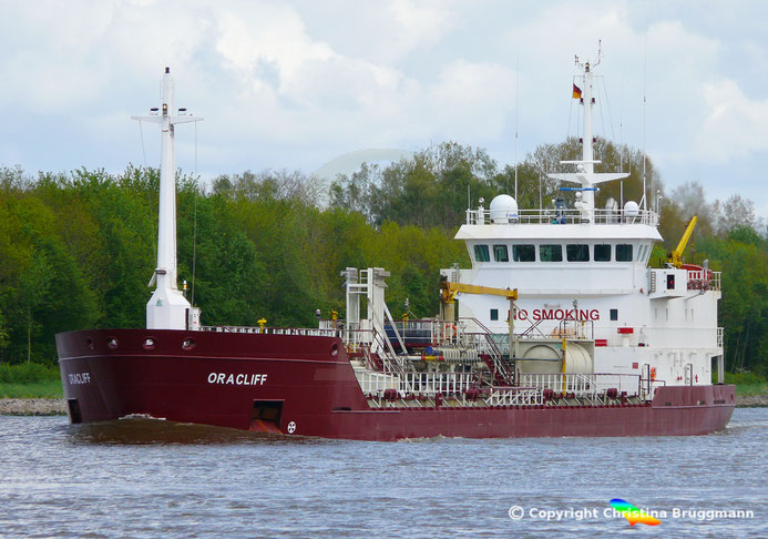Chemie-/Öltanker ORACLIFF,