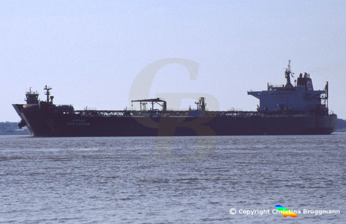 Öl-/Produkten-/Shuttletanker RAS LAFFAN